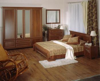 Спальни Спальня Артемида орех за 32 000 руб
