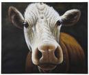 Картина маслом Cow 100x120 за 13400.0 руб