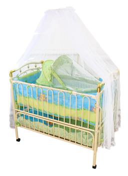 Детские кровати Кроватка детская металлическая Geobi за 7 299 руб