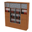 Офисная мебель Шкаф комбинированный за 67541.0 руб