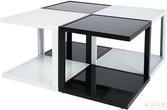 Стол кофейный Domino Black & White, в ассортименте за 3900.0 руб