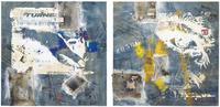 Картины, панно Картина маслом Vintage Jeans 100x100 в ассортименте за 11100.0 руб