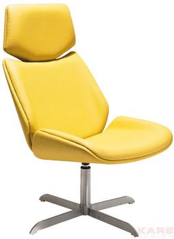 Кресла Кресло Swivel Meeting, желтое за 26 000 руб