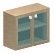 Офисная мебель Шкаф низкий со стеклом за 28046.0 руб