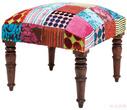Мягкая мебель Табурет Patchwork, бархат за 10200.0 руб