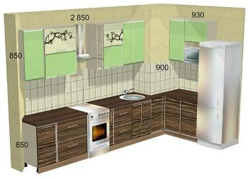 Кухонные гарнитуры Кухонный гарнитур №3 за 76 730 руб