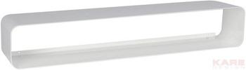 Полки и стеллажи Полка для дисков Lounge M CD 80 White за 3 700 руб