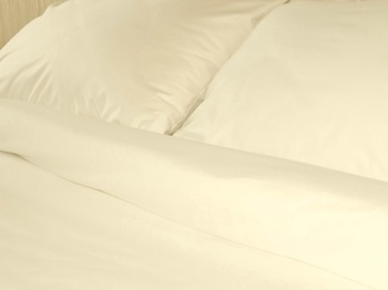 Постельное белье Простынь на резинке «Cream Satin» 140х200 за 1 400 руб