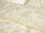 Постельное белье Простынь на резинке «Французские узоры», шампань 120х200 за 1350.0 руб