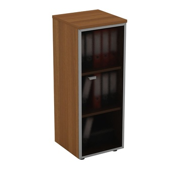 Мебель для персонала Шкаф для документов средний узкий со стеклянной дверью в рамке правый за 11 975 руб