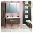 Мебель для ванной Комод Мадрид 100 (Зебрано темное) за 12900.0 руб