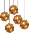 Светильник подвесной Kristall C2 GD, золото за 16000.0 руб