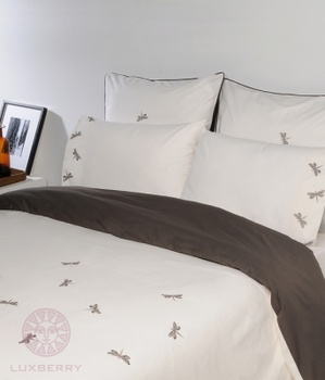 Постельное белье Постельное белье «Вечерние стрекозы» 1.5-спальный за 6 800 руб