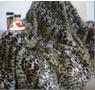 Blanket Fur Leo Dark 140x200cm