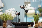 "Статуэтка ""5 птиц на деревянной подставке"" за 4000.0 руб"