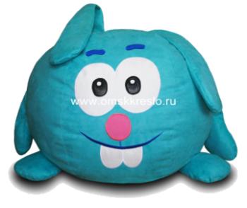 Бескаркасная мебель Кресло-мешок Заяц за 6 390 руб