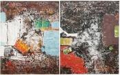 Картины, панно Картина маслом АБСtrakt 150x120 в ассортименте за 18500.0 руб