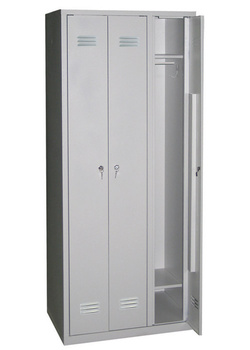 Сейфы и металлические шкафы Шкаф для одежды ШР-101 за 7 966 руб