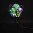Светильник настольный Mondstein T, разноцветный пластик, хром. мет. за 13200.0 руб