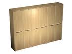 Шкаф комбинированный (закрытый - закрытый - одежда) за 82366.0 руб