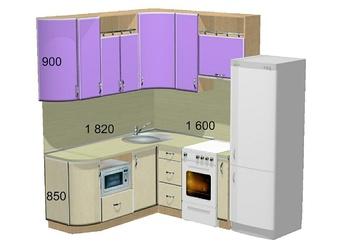Кухонные гарнитуры Кухонный гарнитур №4 за 68 770 руб