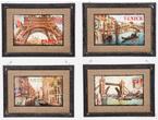 Картины, панно Картина Citys Vintage 42x58 см Assorted за 5400.0 руб
