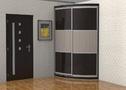шкаф радиусный