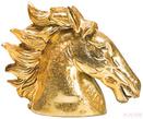 Объект декоративный Horse Head Crackle Gold за 11900.0 руб