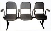 Секция из 3-х стульев за 2135.0 руб