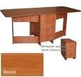 Столы и стулья Стол-книжка Глория 606 (4 ящика) вишня за 5590.0 руб