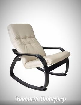 "Кресла-качалки Кресло-качалка ""Сайма"" экокожа за 11 900 руб"