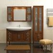 Комплект мебели для ванной МИРАЖ 120 за 54300.0 руб