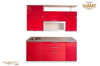 Кухонные гарнитуры Кухня МДФ Лиана - 1 за 23 860 руб