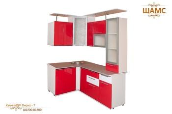 Кухонные гарнитуры Кухня МДФ Лиана - 7 за 33 950 руб