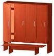Шкаф детский для одежды, со скамьей за 5870.0 руб