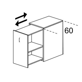 Мебель для персонала Шкаф персональный Tower (индивидуального пользования) левый с замком за 11 999 руб