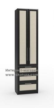 Прихожие Бирма Шкаф с 3мя ящиками фасад (венге/дуб) за 13 040 руб