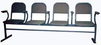 Кресла секционные Секция из 4-х стульев за 2860.0 руб