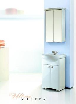 Шкафы Ультра Шкаф-зеркало 50 с подсветкой за 5 960 руб