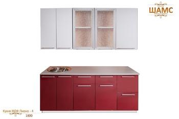 Кухонные гарнитуры Кухня МДФ Лиана - 4 за 23 370 руб