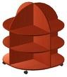 Корпусная мебель Литературный центр за 2655.0 руб