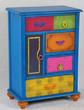 Корпусная мебель Комод Gitano 1дверь, 4 ящика за 23600.0 руб