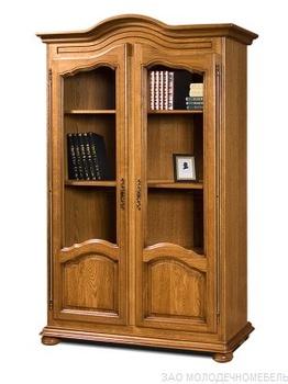 """Гостиные Шкаф для книг 1240 """"Давиль"""" ММ-126-16 за 28 450 руб"""