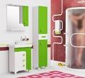 Мебель для ванной ЛУИДЖИ 60С Шкаф-зеркало зеленый за 5350.0 руб