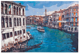 Картины, панно Картина Canale Grande 80x120см за 7900.0 руб