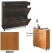 Мебель для прихожей Обувной шкаф Бона-4 (вишня) за 9340.0 руб