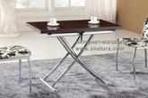 Столы и стулья Стол трансформер 2219 венге (57/114х100х76) за 16180.0 руб