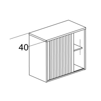 Мебель для персонала Шкаф рабочей зоны и проходов Karstula с замком за 15 242 руб