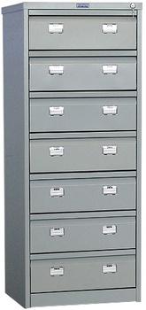 Сейфы и металлические шкафы Картотечный шкаф AFC-07 Практик за 13 992 руб