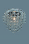 Светильник подвесной Glose С3, прозрачный, хром. мет.